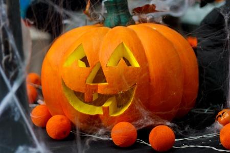 alarming: Calabaza de Halloween.