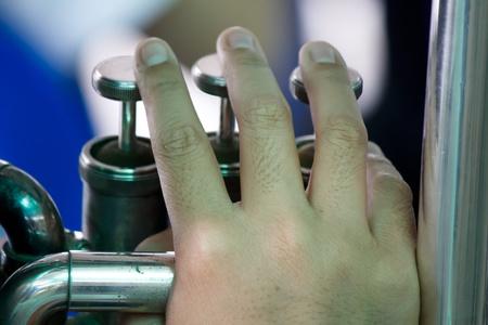 fingering: Tuba fingering sample picture for practice