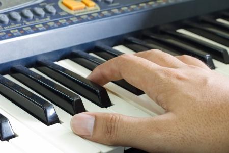 repertoire: finger position on keyboard