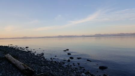 beachfront: Vancouver Island Beachfront North Facing