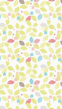 forme: flower shape Cartoon pattern Illustration