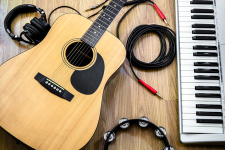 accoustic: musical instruments Stock Photo