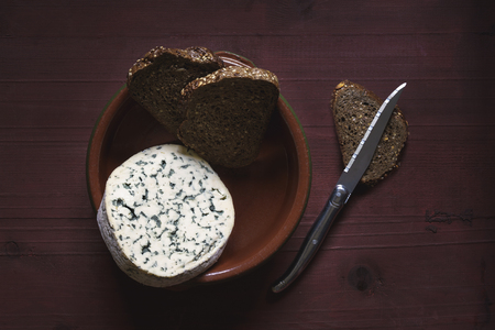 French cheese and brown bread