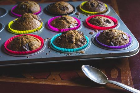 home made muffins Stok Fotoğraf
