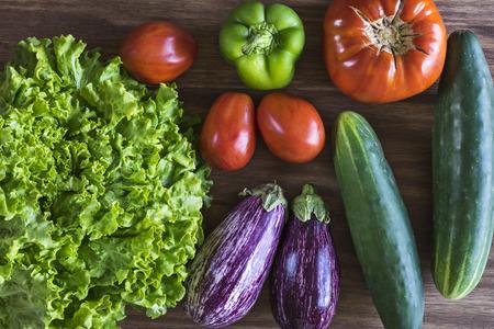Fresh vegetables from my garden Foto de archivo - 119609554