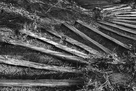 Wooden steps Foto de archivo - 119609457
