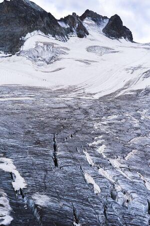 French Alps Glacier