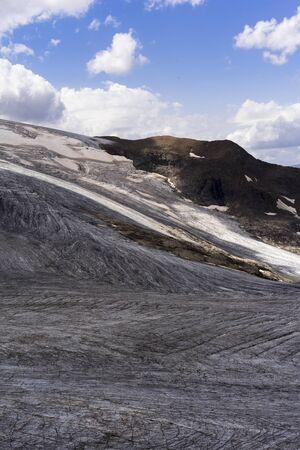 French Alps Glacier Foto de archivo - 131960859