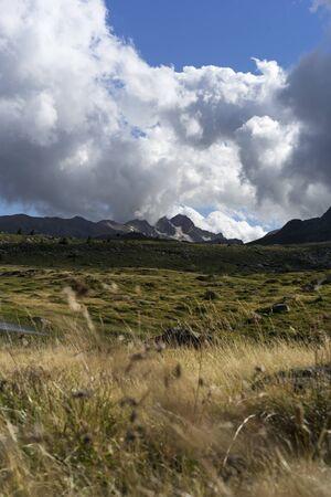 Mountains. landscape. French Alps Stock fotó