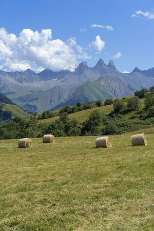 French Alps scenery