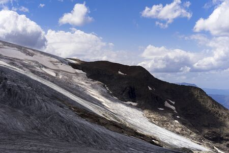 French Alps Glacier. Ecrins National Park, France Stock fotó