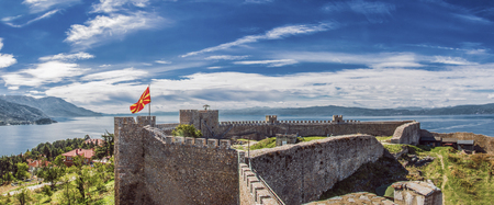 Samuels Fortress at Ohrid Lake (Macedonia) Editorial