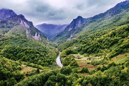 Tara Canyon Valley (Montenegro)