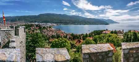 Ohrid Lake from Samuel's Fortress (Macedonia)