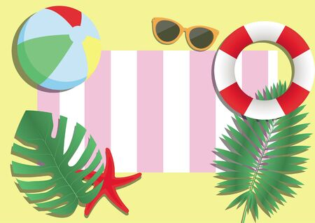 summer background for advertising or printing