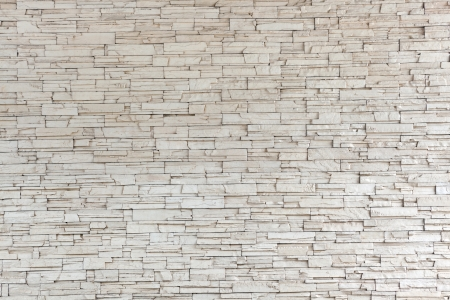 White Stone Tile Texture Brick Wall Out Side Building