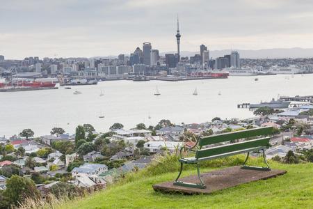 eden: The view point of Aucklands Skyline from Mount Eden.