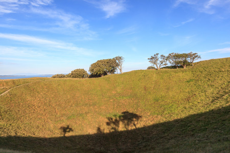eden: The Mount Eden with nature scenic background.