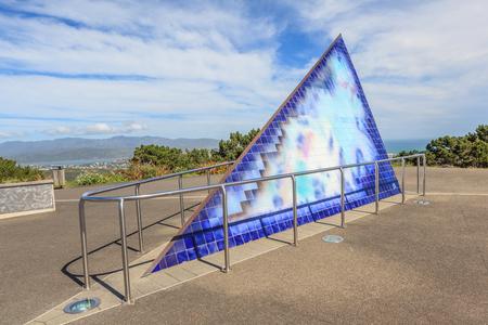 wellington: Wellington, New Zealand- November 29, 2013. Mount Victoria Lookout, Wellington in New Zealand.