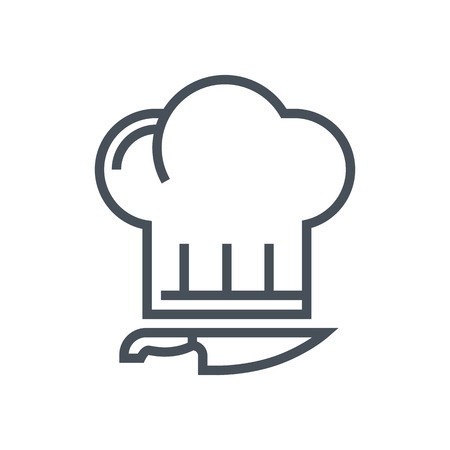 Kitchen, chef icon suitable for info graphics, websites and print media and  interfaces. Line vector icon.