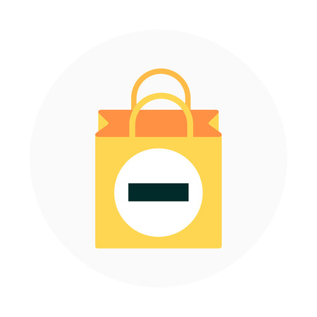 checkout line: Add to chart theme, flat style, colorful, vector icon for info graphics, websites, mobile and print media.