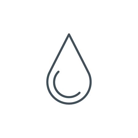 Icono de la energía hidráulica adecuada para información de gráficos, páginas web y medios impresos e interfaces. Línea de iconos de vectores. Foto de archivo - 55907030