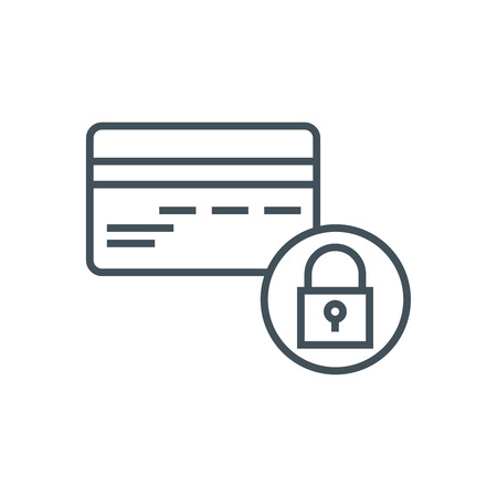 Secure transfer icon suitable for info graphics, websites and print media. Vector icon.