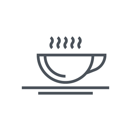 responsive: Coffee icon suitable for info graphics, websites and print media and  interfaces. Line vector icon. Illustration
