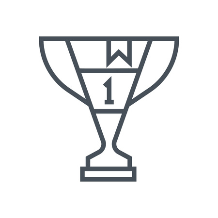 Award icon suitable for info graphics, websites and print media and  interfaces. Line vector icon.