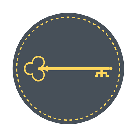 Key wording theme, flat style, colorful, vector icon for info graphics, websites, mobile and print media.