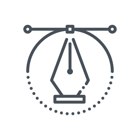 Graphics design icon suitable for info graphics, websites and print media and  interfaces. Hand drawn style, pixel perfect line vector icon.