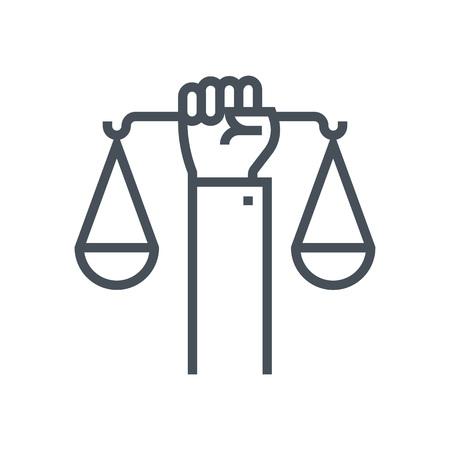 icône appropriée pour informations graphiques, sites Web et les médias imprimés et interfaces droits civils. Ligne icône vecteur. Visage humain, tête, ligne vecteur icône.