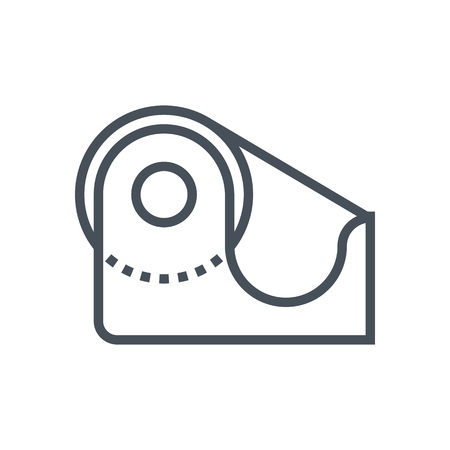 scotch: Tape icon suitable for info graphics, websites and print media and  interfaces. Line vector icon.
