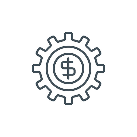 Make Money icon suitable for info graphics, websites and print media. Vector icon. Illustration