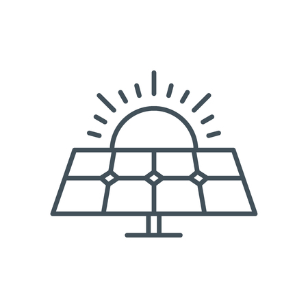 solar power: Solar power icon