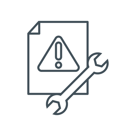 anti virus: Anti virus icon suitable for info graphics, websites and print media and  interfaces. Line vector icon. Illustration