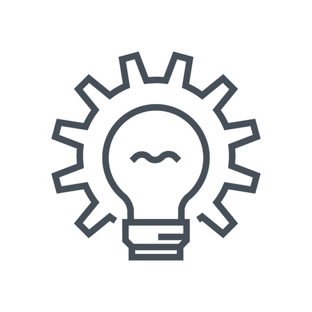 Creative production research icon suitable for info graphics, websites and print media and  interfaces. Line vector icon.