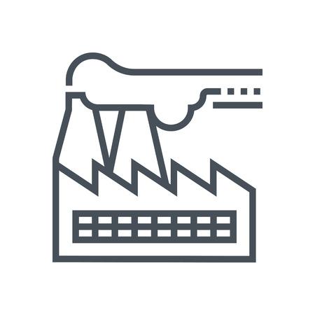 Icône appropriée pour informations graphiques, sites Web et les médias imprimés et les interfaces Factory. Ligne icône vecteur. Banque d'images - 55945054