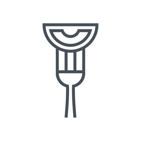 채식 음식 아이콘 정보 그래픽, 웹 사이트 및 인쇄 매체에 적합합니다. 벡터 아이콘입니다.