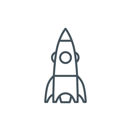 Start up icon suitable for info graphics, websites and print media and  interfaces. Line vector icon.