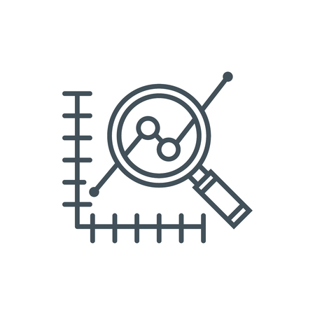 Forecast icon suitable for info graphics, websites and print media. Vector icon.