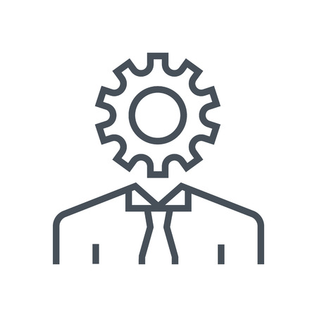 Productivity icon suitable for info graphics, websites and print media. Colorful vector, flat icon, clip art.