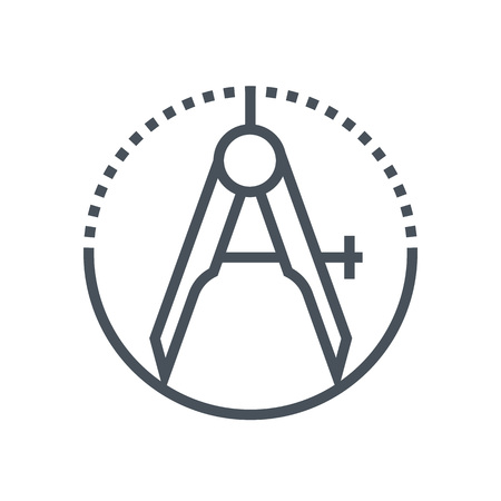 precision: Precision icon suitable for info graphics, websites and print media and  interfaces. Line vector icon. Illustration