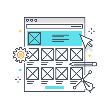 Fantastisch Website Drahtmodell Symbol Ideen - Elektrische ...