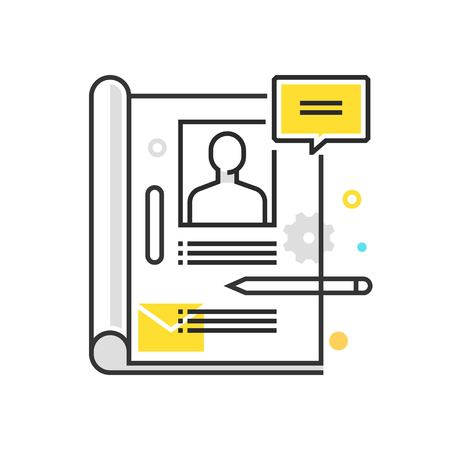 Color box icon,  illustration, icon, background and graphics. The illustration is colorful, flat, vector, pixel perfect, suitable for web and print. It is linear stokes and fills. Vectores