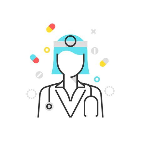 heath: Color box icon, health protection illustration, icon, background and graphics. The illustration is colorful, flat, vector, pixel perfect, suitable for web and print. It is linear stokes and fills. Illustration