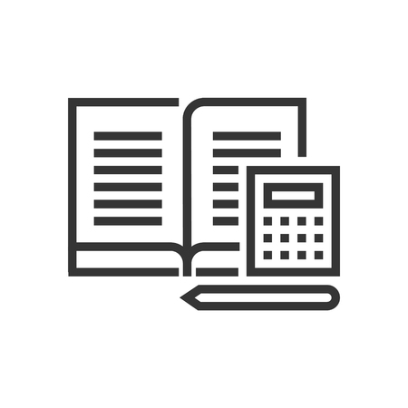 Corporate law icon, part of the square icons, law and justice icon set. The illustration is a vector, editable stroke, thirty-two by thirty-two matrix grid, pixel perfect file.