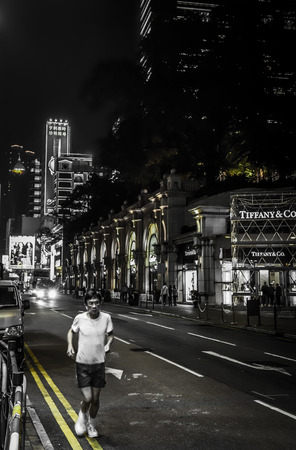Canton Road is a major road in Hong Kong. Canton Road is home to many upscale retail shops, shopping centres and others business establishments, with busy traffic from both vehicles and pedestrians from morning till late night.