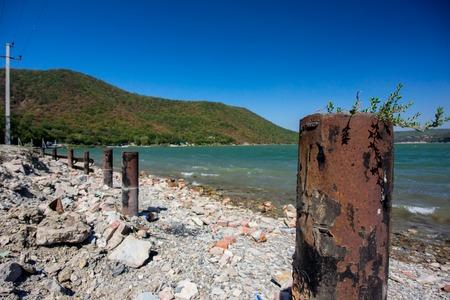 krasnodar: Lake Abrau. Krasnodar region. Russia Stock Photo