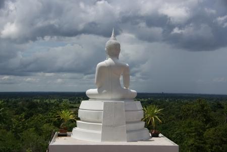Behind the Buddha statue Stock Photo - 15865217
